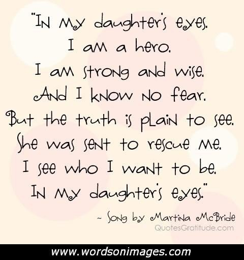 How I Love My Daughter Quotes: I Love My Daughter Quotes And Sayings. QuotesGram