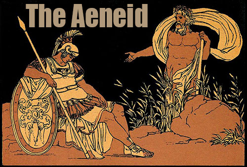 a literary analysis of the latin epic the aeneid Aeneas and odysseus (and therefore homeric epic) nearly come into physical   and its polyvalent historical symbolism form an appropriate setting for the.