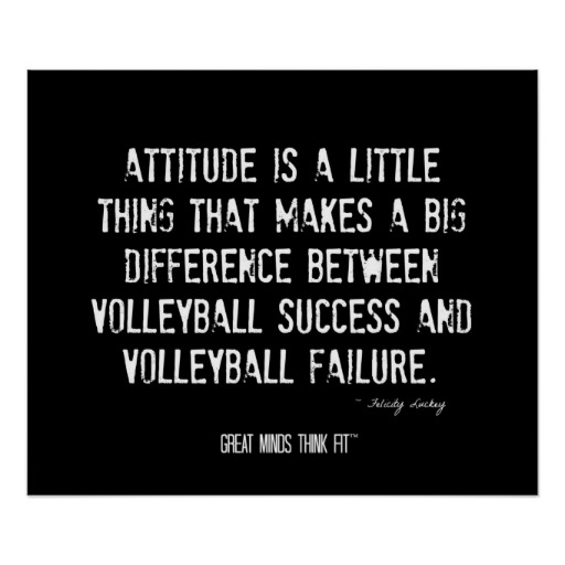 Motivational Quotes For Sports Teams: Inspirational Sports Quotes For Volleyball. QuotesGram