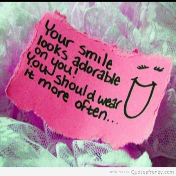 Cute Smile Quotes For Facebook: Quotes About Happiness And Smiling. QuotesGram