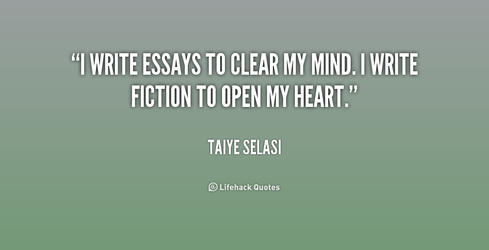 Quotes for essays