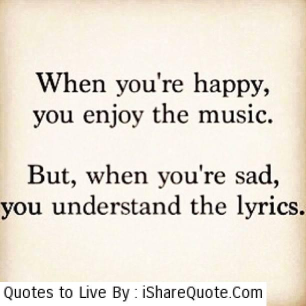 Happy Quotes About Music. QuotesGram