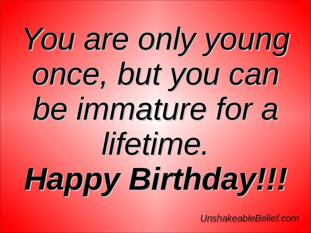Adult Happy Birthday Quotes. QuotesGram