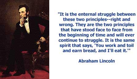 abraham lincoln racist quotes. quotesgram