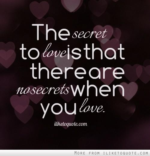 voodoo keeping secrets in a relationship