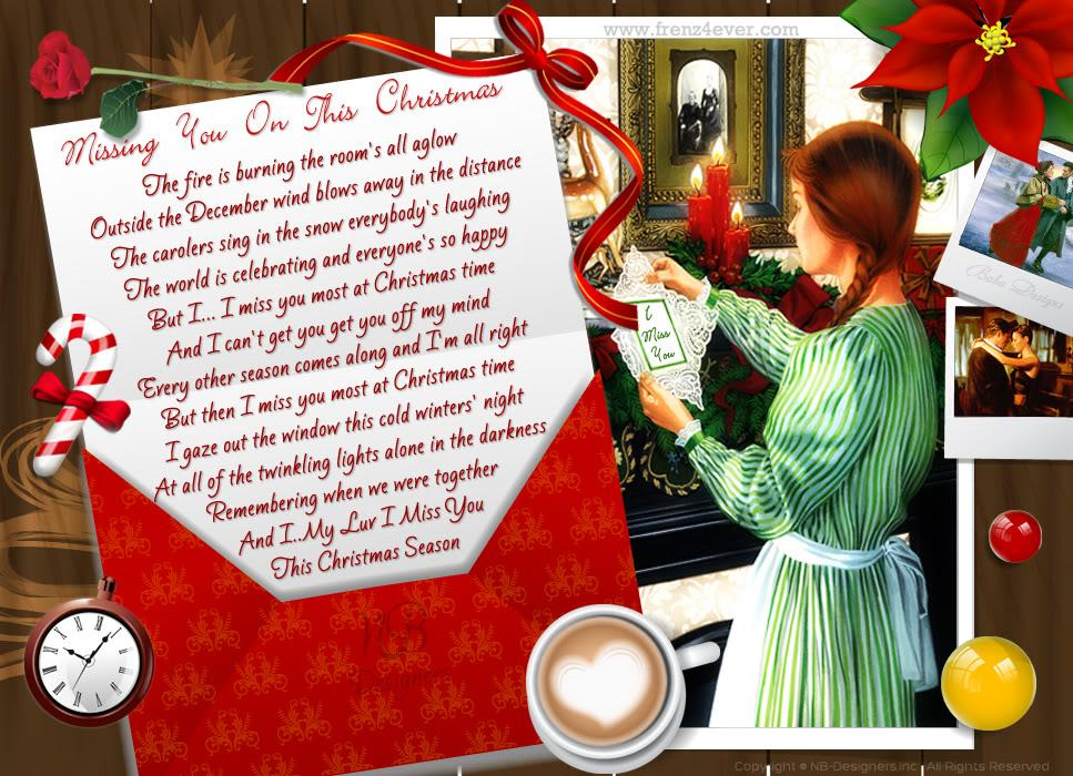 Missing Someone At Christmas Quotes: At Christmas Missing You Quotes. QuotesGram