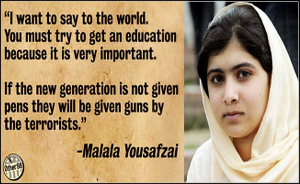 Quotes From I Am Malal...