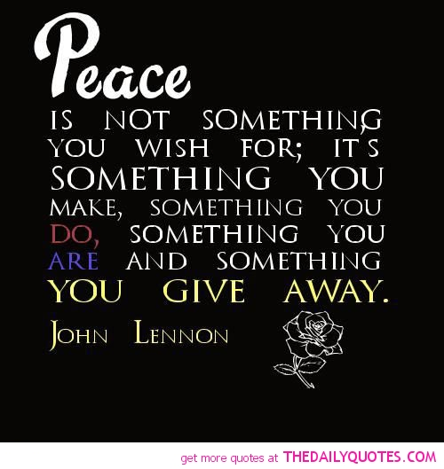 Peace Quotes And Poems. QuotesGram