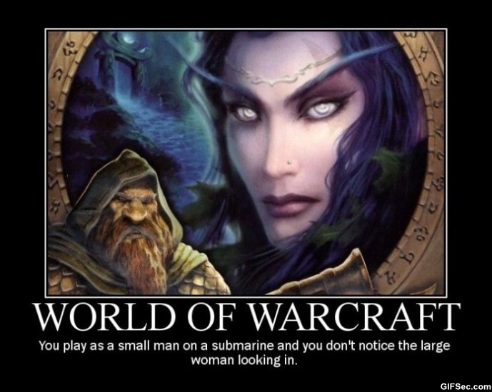 World Of Warcraft Inspirational Quotes: World Of Warcraft Funny Quotes. QuotesGram