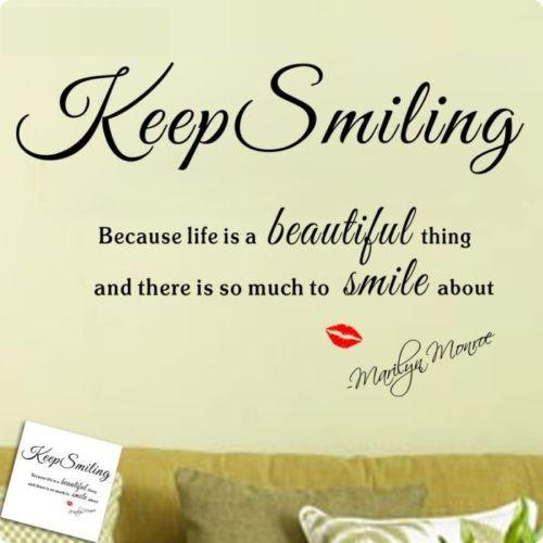 Beautiful Keep Smiling Quotes. QuotesGram