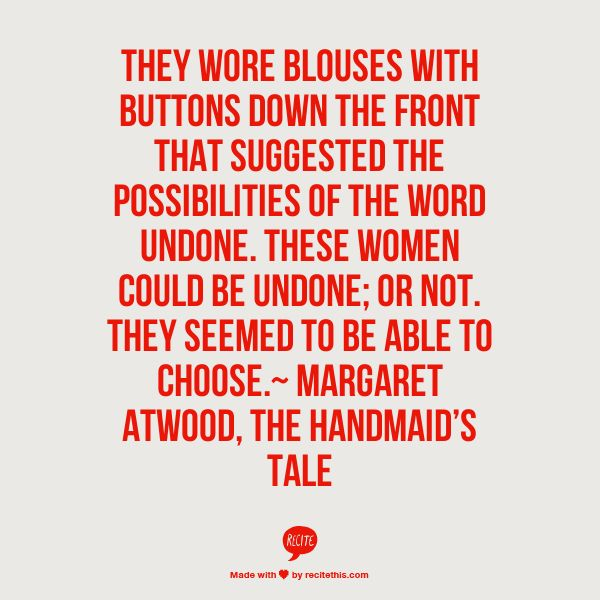 the handmaids tale by margaret atwood essay Essay on the novel the handmaid's tale by margaret atwood by drew_sapp in  topics  books - fiction.