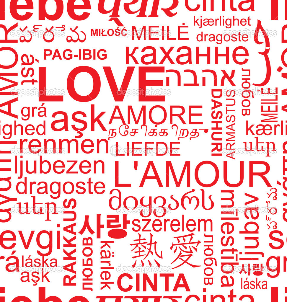 how to write i love you in 100 different languages