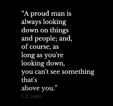 cs lewis on pride 1 What cs lewis wrote is more powerful than what he it means you are very conceited indeed 1 here then is the unbridled cs lewis, whose words carry with them.