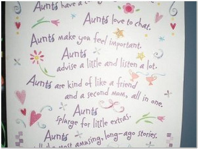 17 Best Quotes For Aunts On Pinterest: Happy Birthday Aunt Inspirational Quotes. QuotesGram