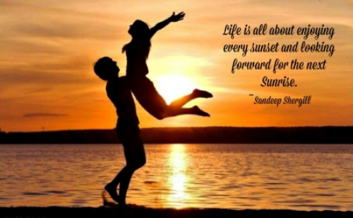 Love Quotes For Him Sunset : Oranges Romantic Quotes. QuotesGram