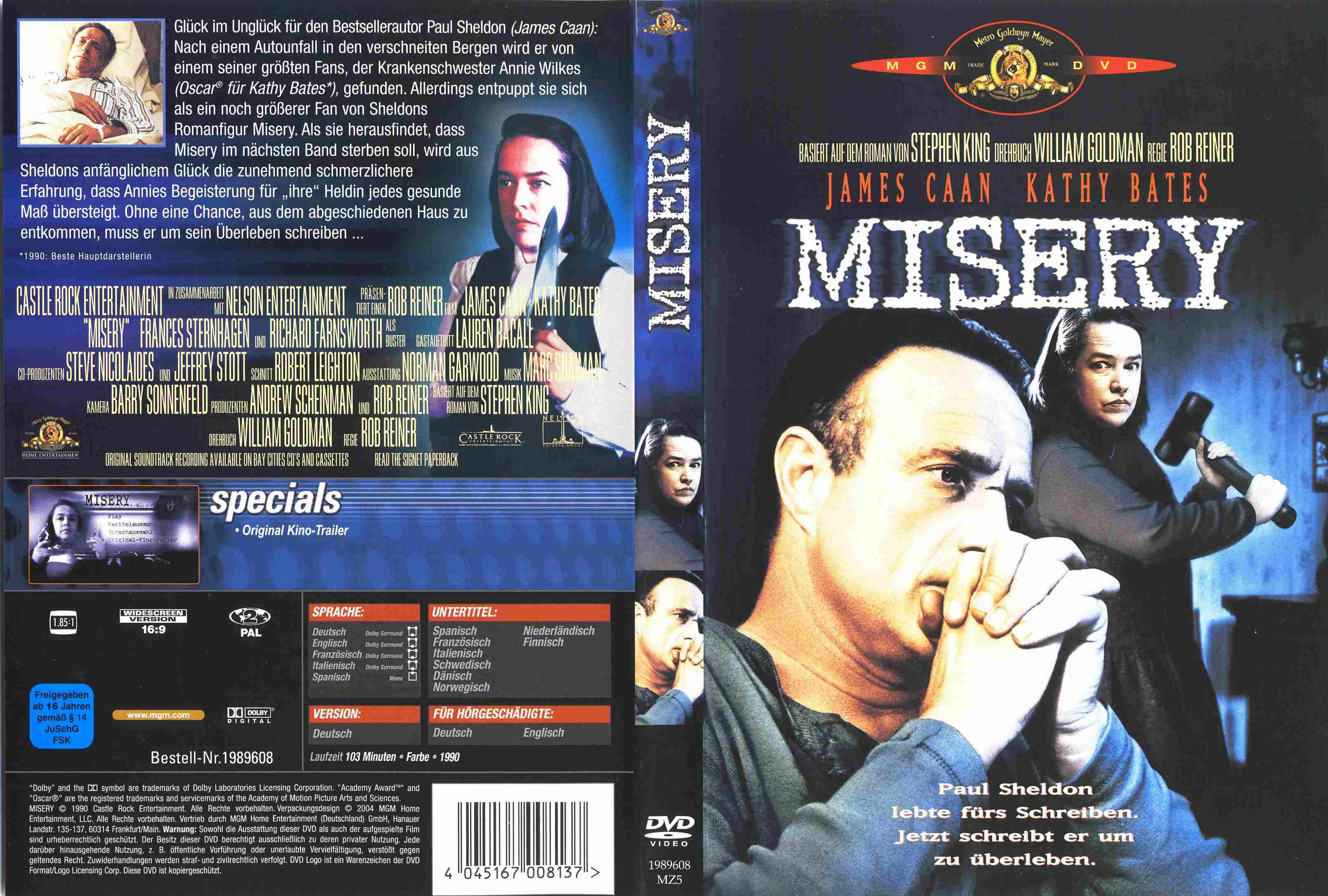 misery movie quotes  quotesgram