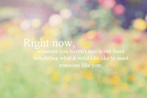 Meeting Someone Unexpectedly Quotes. QuotesGram