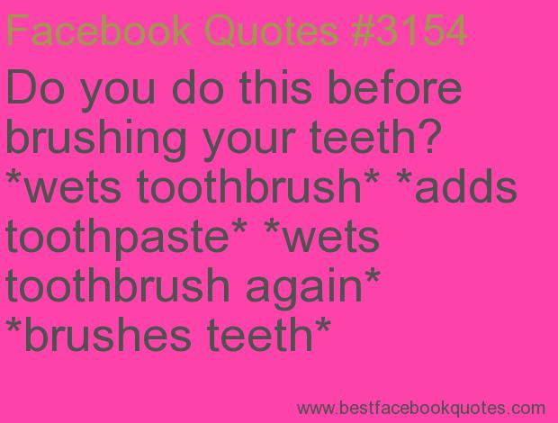 Brush Your Teeth Quotes: Brush Your Teeth Quotes. QuotesGram