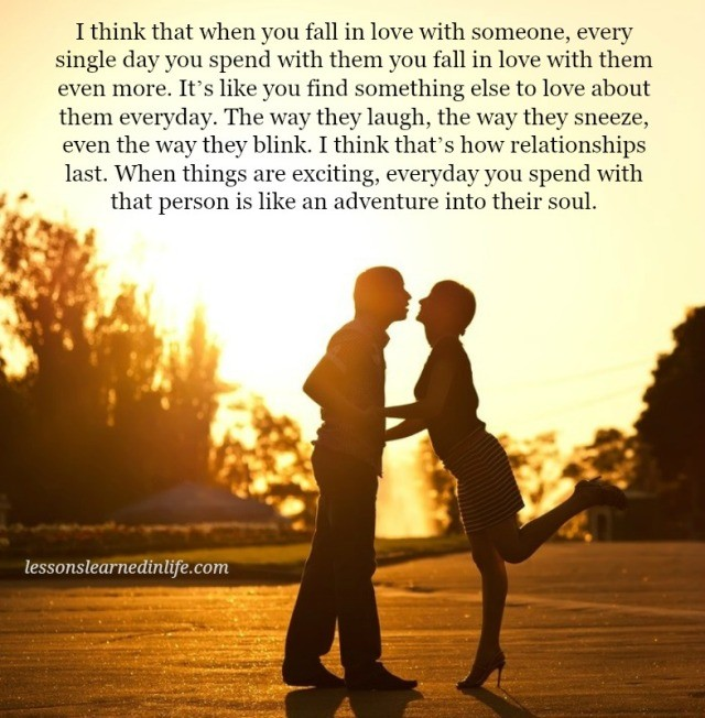 Quotes About Love For Him: Everyday I Fall More In Love With You Quotes. QuotesGram