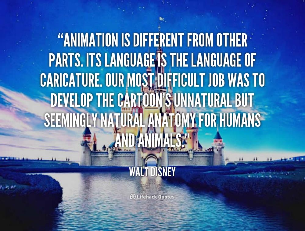Animation Walt Disney Quotes. QuotesGram