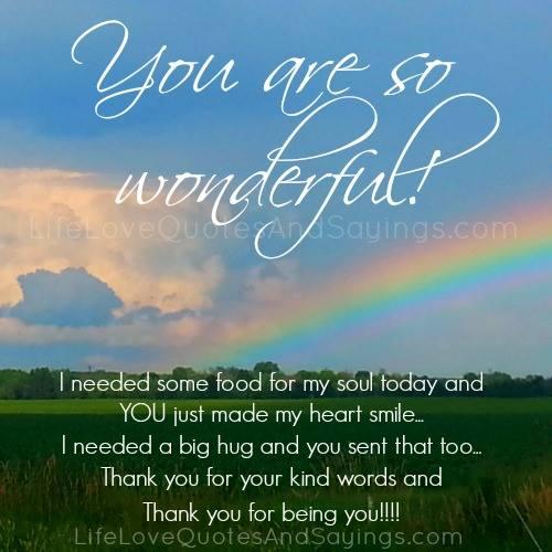 You Are Wonderful Quotes. QuotesGram
