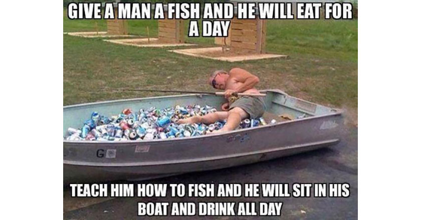 Ice Fishing And Drinking Quotes Quotesgram