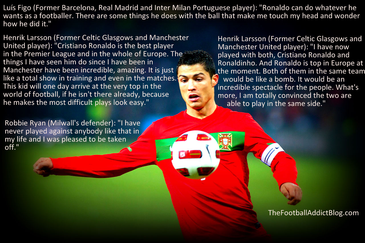 Soccer quotes messi and ronaldo