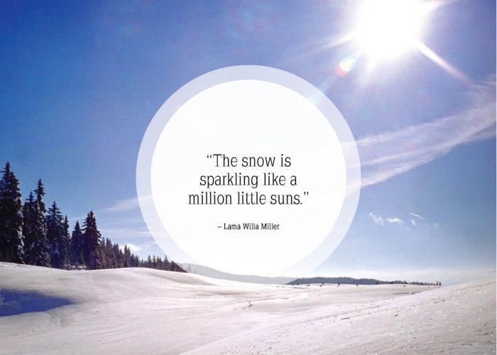 inspirational quotes about snow flakes quotesgram