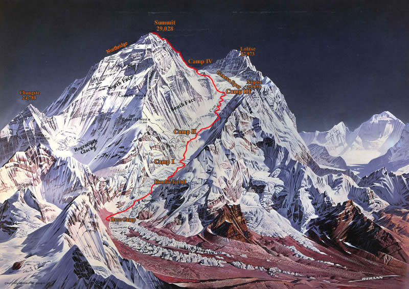 Quotes About Mount Everest: Quotes On Climbing Mt Everest. QuotesGram