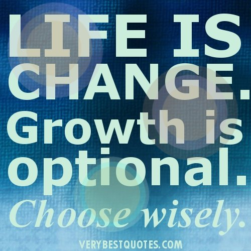 Motivational Quotes About Life Changes. QuotesGram