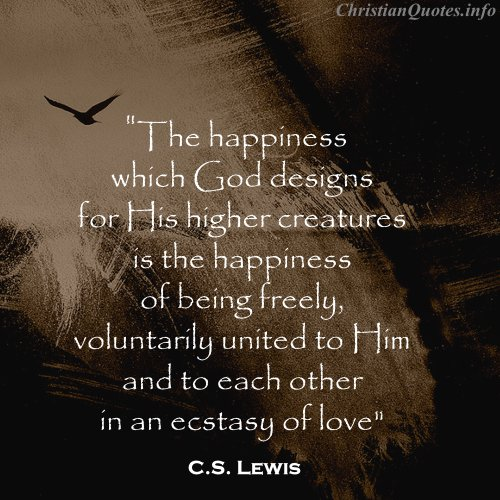 C S Lewis Quotes Quotesgram