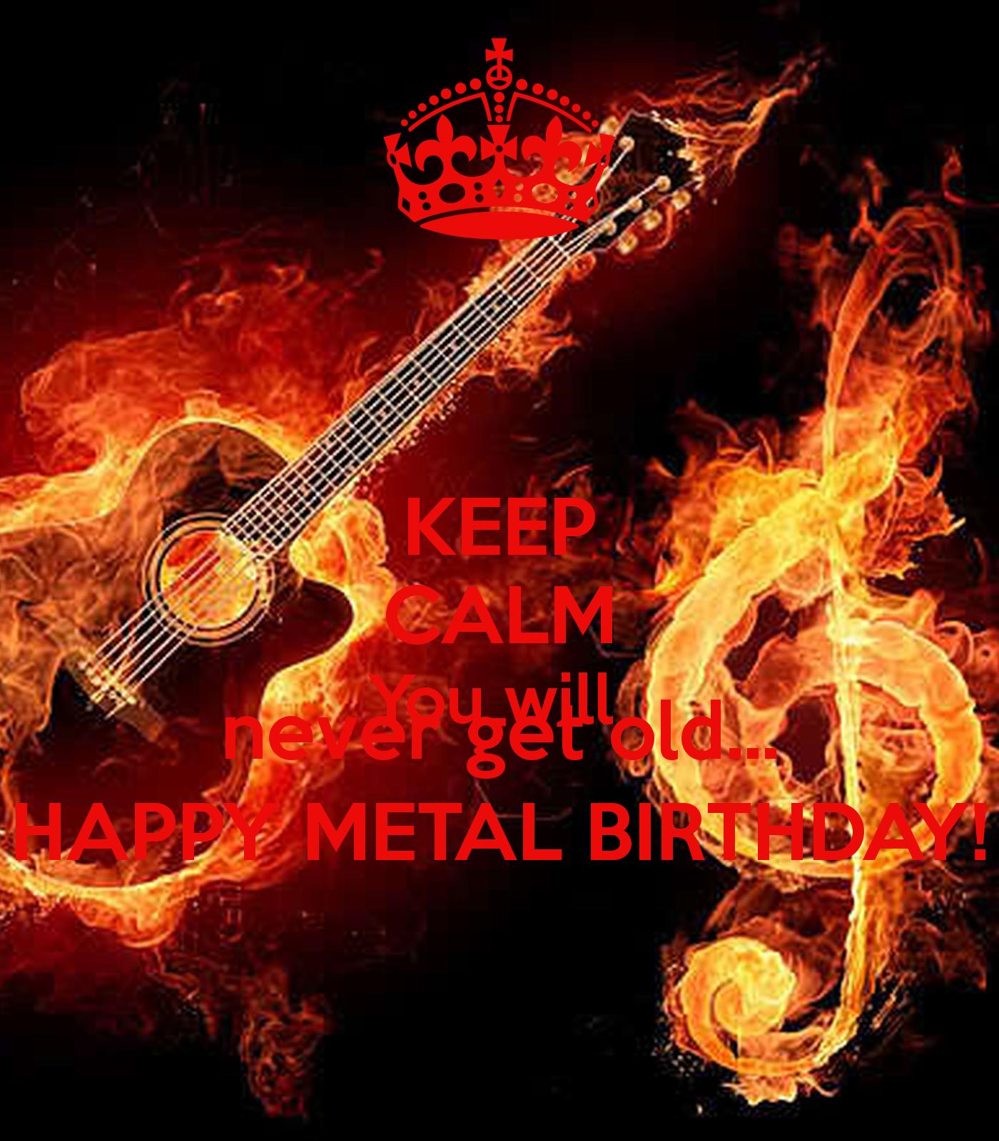 Heavy Metal Birthday Quotes Quotesgram
