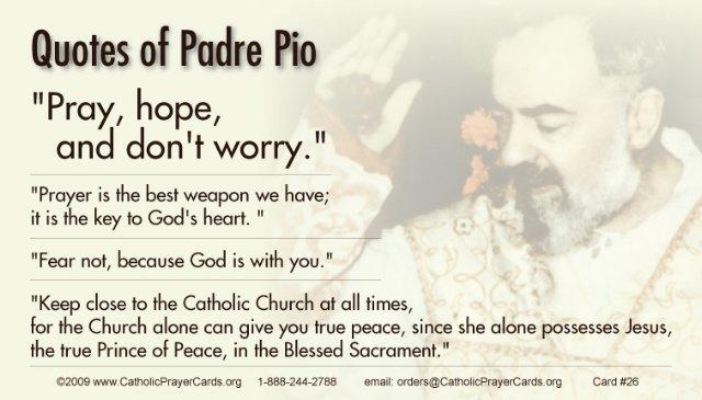 The Healing Prayer Of Padre Pio