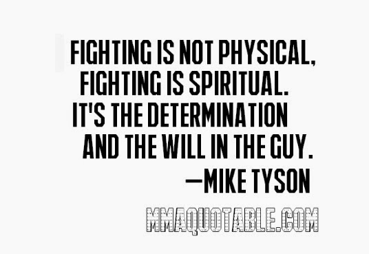 Quotes About Fighting The Good Fight: Inspirational Quotes Mike Tyson. QuotesGram