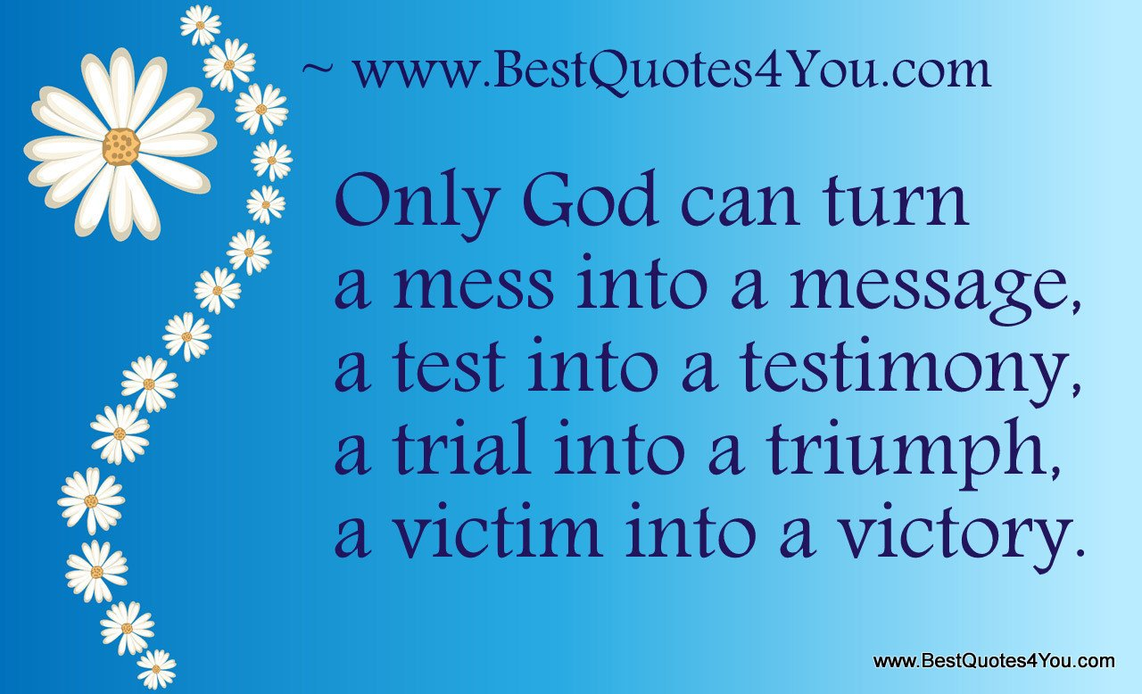 Message From God Quotes Quotesgram