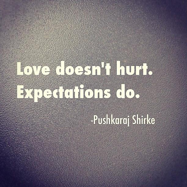 Expectations In A Relationship Quotes