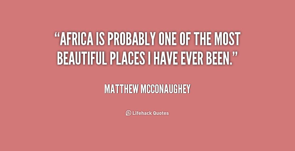 Africa Quotes. QuotesG...