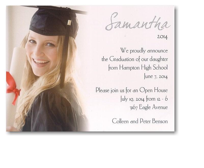 high school graduation announcement quotes  quotesgram