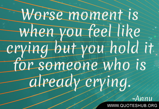 Drake Quote The Worse Feeling Is When Someone Makes You: Feel Like Crying Quotes. QuotesGram