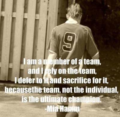 Soccer Quotes For Girls (34 Picture Quotes)  |Mia Hamm Soccer Quotes