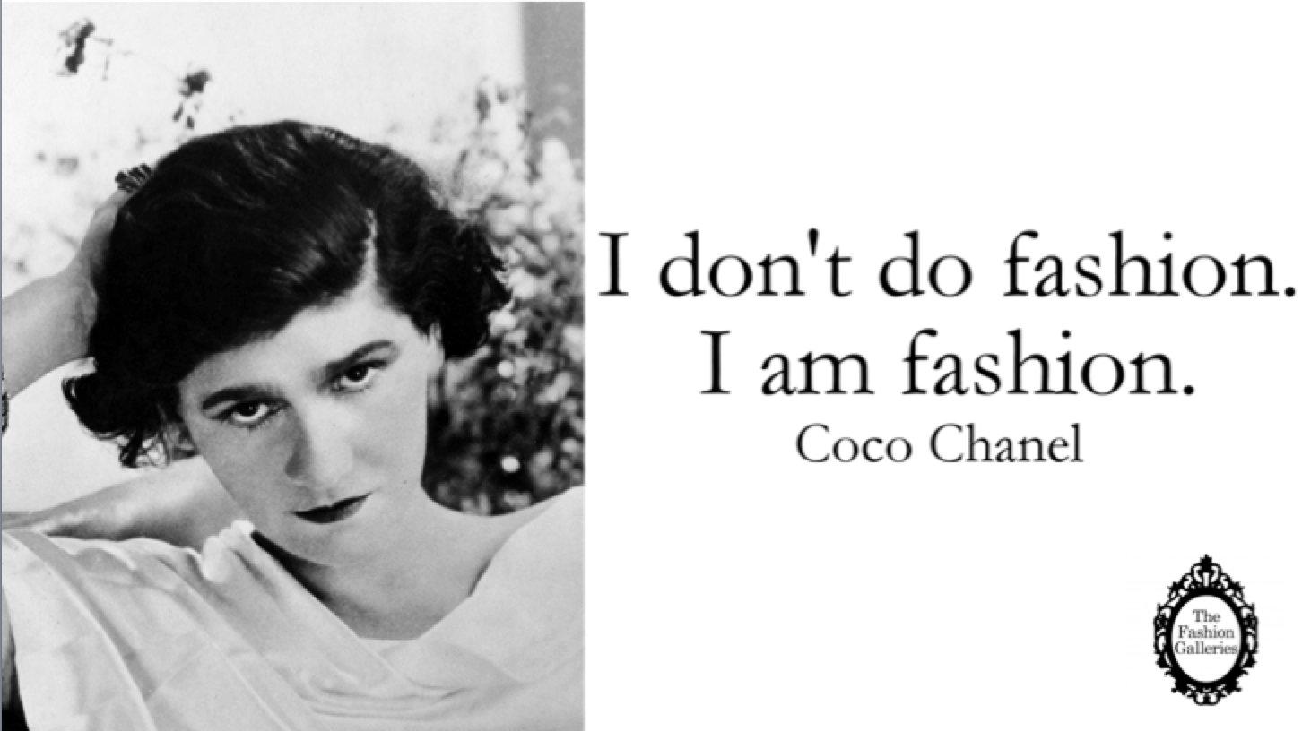 Coco Chanel Famous Fashion Designs