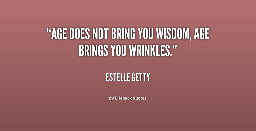 Wrinkles quotes