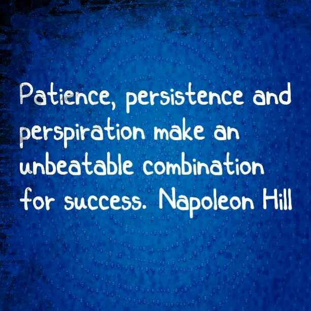 Persistence Motivational Quotes: Good Quotes On Persistence. QuotesGram