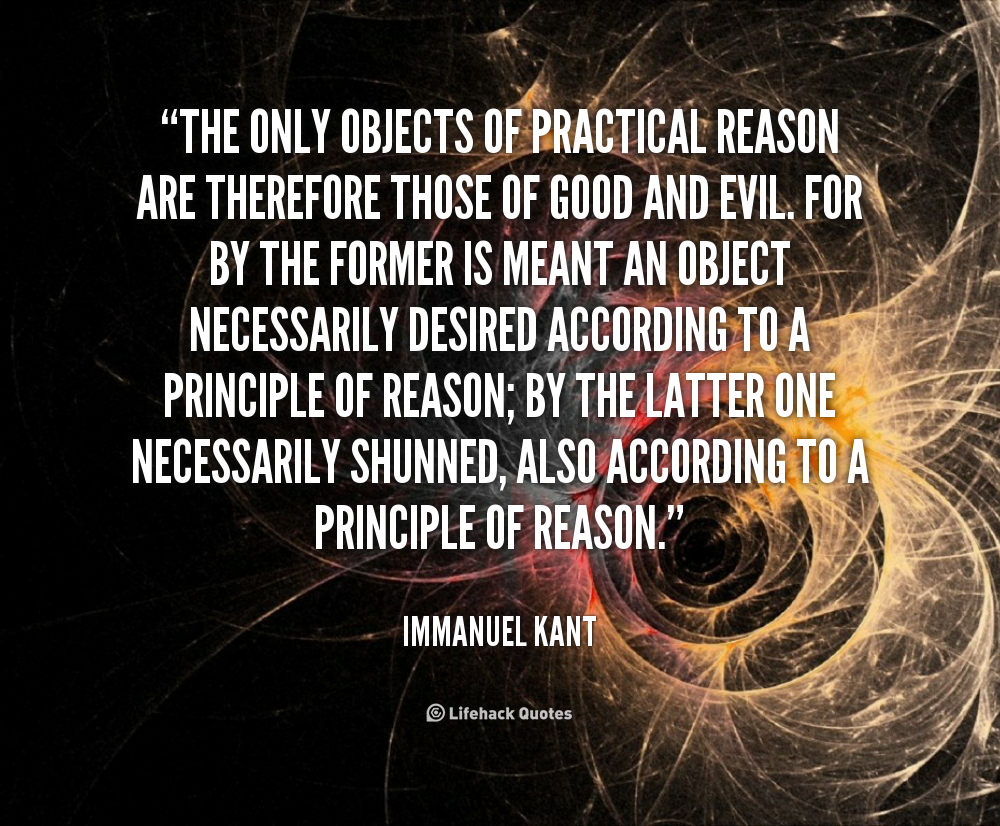 the reason and marality according to immanuel kant According to immanuel kant is there a supreme principle of morality, and if so, what is it kant describes the categorical imperative as the imperative of moral-ity microsoft word - understanding kant's categorical imperativedocx.