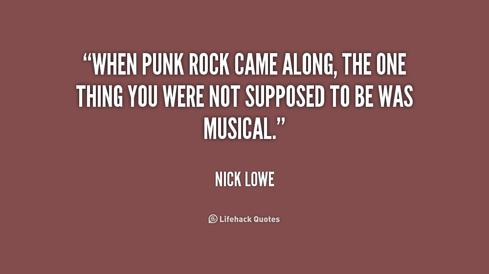 Punk Rock Quotes. QuotesGram