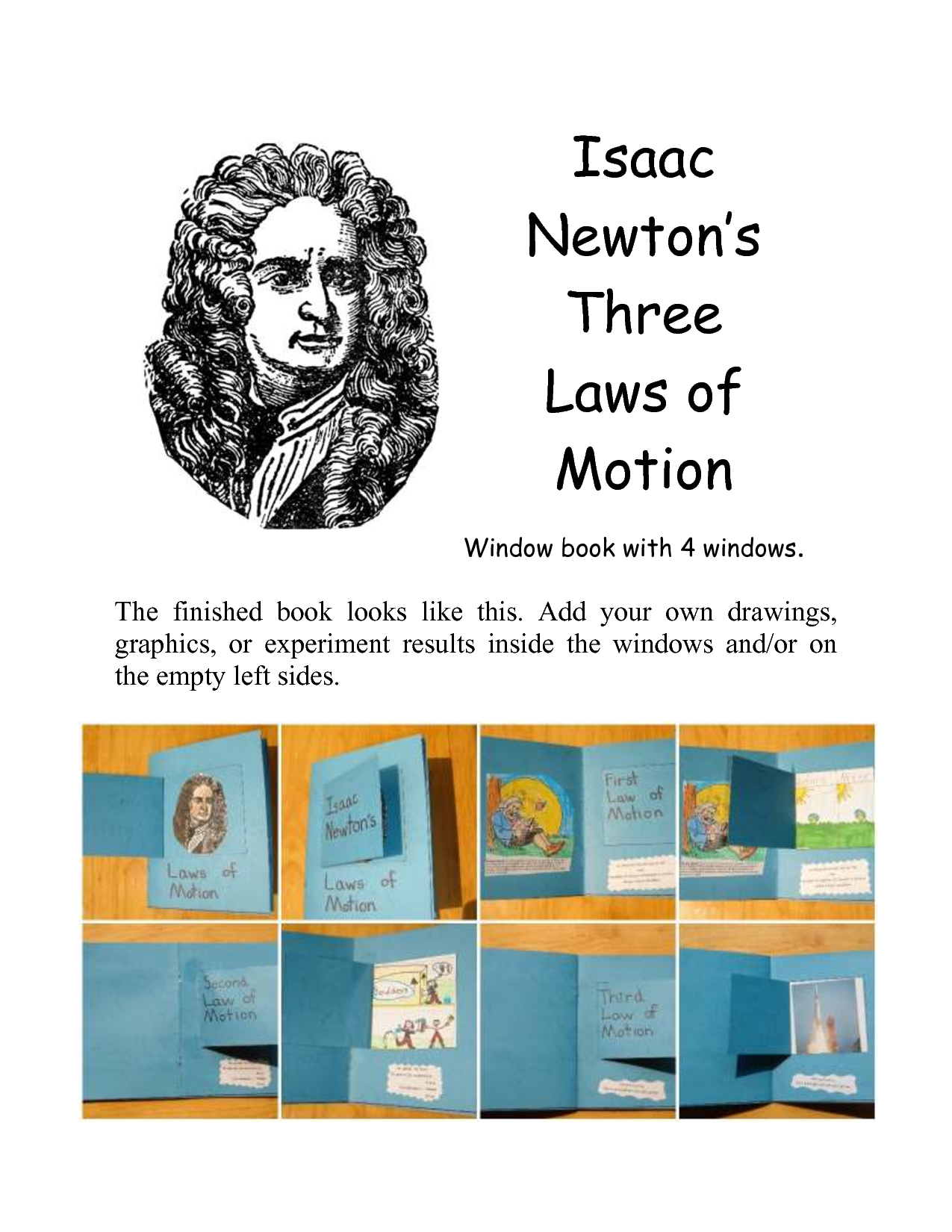 the three laws of general physics by isaac newton