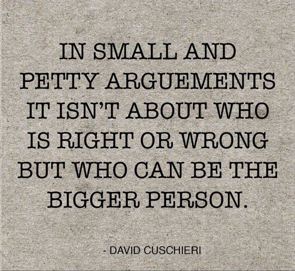 A Quote From A Famous Person: Famous Bigger Person Quotes. QuotesGram