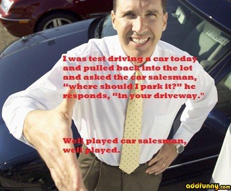 Funny Salesmen Quotes. QuotesGram