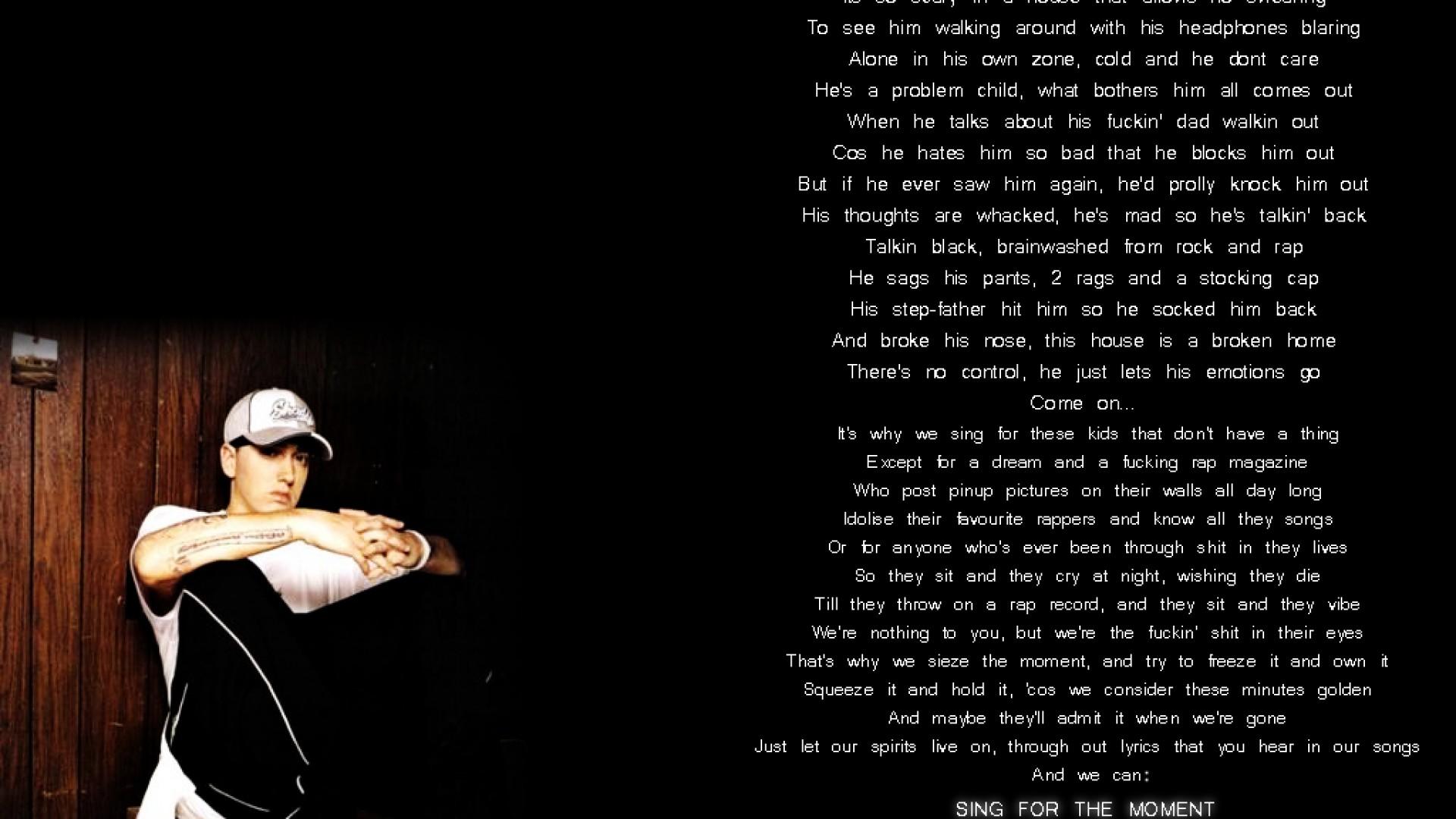 Eminem Quotes Wallpaper Quotesgram