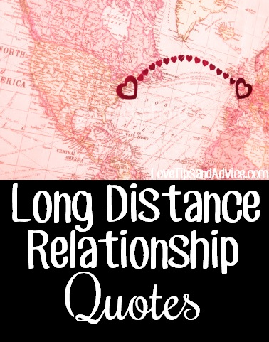 Long distance dating quotes